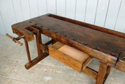Image 3 - Antique Workbench or Kitchen Island