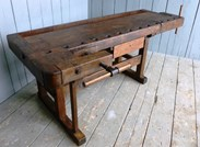 Image 4 - Antique Workbench or Kitchen Island