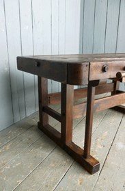 Image 5 - Antique Workbench or Kitchen Island