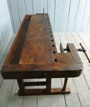 Image 6 - Antique Workbench or Kitchen Island
