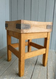 Image 2 - Antique Butchers Chopping Block