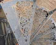 Image 4 - Cast Iron Spiral Staircase