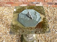 Image 6 - Vintage Hand Carved Stone Sundial