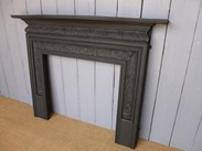 Image 2 - Antique Coalbrookdale Cast Iron Fire Surround