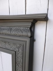 Buy antique Coalbrookdale Cast Iron Fire Surround fire surrounds at UKAA in Cannock Wood Staffordshire