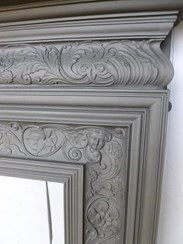 Image 7 - Antique Coalbrookdale Cast Iron Fire Surround
