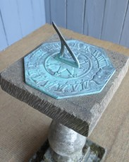 Image 1 - Vintage Reconstituted Stone Sundial