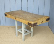 Image 2 - Antique Butchers Chopping Block Top Only
