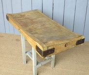 Image 4 - Antique Butchers Chopping Block Top Only