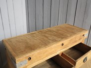 Image 5 - Antique Butchers Chopping Block with 2 Drawers
