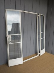 Image 3 - Antique Crittall Double Doors