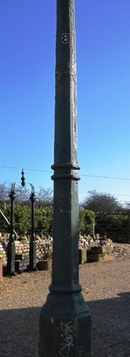 Image 3 - Antique Reclaimed Cast Iron Gas Lamp Post