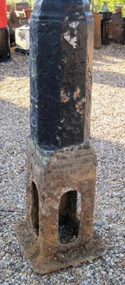 Image 2 - Salvaged Antique Cast Iron Gas Lamp Post
