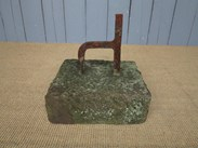 Image 2 - A Wrought Iron Boot Scraper on Stone Base