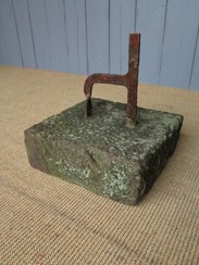 Image 4 - A Wrought Iron Boot Scraper on Stone Base