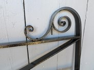 Image 7 - Victorian Wrought Iron Estate Gate