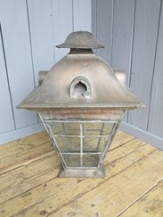Image 2 - Very Large Copper Victorian Hanging Lantern