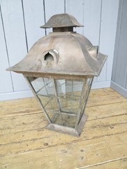 Image 5 - Very Large Copper Victorian Hanging Lantern