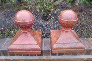 UKAA buy and sell original edwardian terracotta finials