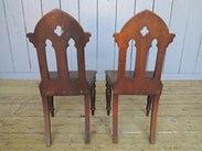 UKAA Buy and Sell Pairs of Gothic Hall Chairs