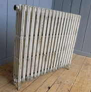 Reclaimed Cast Iron Radiator - 4 Columns Deep x 18 Sections Long