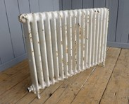 Cast Iron Radiator - Reclaimed - 1 Column x 18 Sections Long