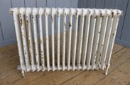 Cast Iron Radiator - Reclaimed from Barnsby Saddlery - 1 Column x 18 Sections Long