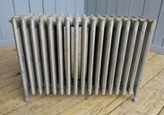 Reclaimed Cast Iron Radiator - 6 Columns Deep x 17 Sections Long