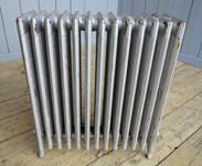 Cast Iron Reclaimed Radiator - 6 Columns Deep x 13 Sections Long