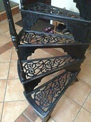 Cast Iron Spiral Staircases to buy from UKAA in Cannock Wood Staffordshire