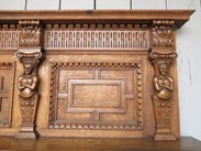 Image 2 - Hand Carved Victorian Oak Fire Surround