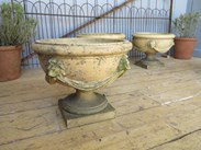 Image 6 - Set of 4 Victorian Terracotta Planters