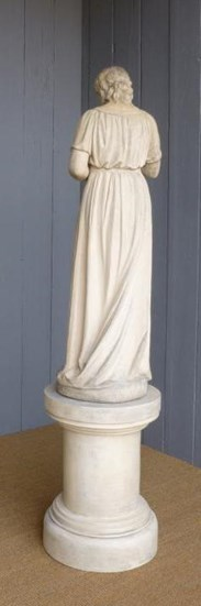 Image 7 - Antique Coade Statue