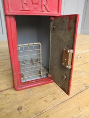 Arch Back Royal Mail Post Box With Cage