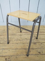 Tubular Industrial Steel Stacking Stools