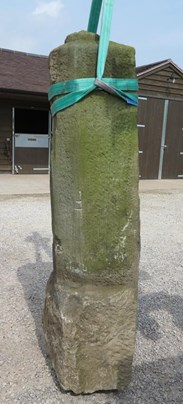 Image 1 - Pair of Antique Stone Gate Posts