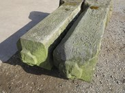 Image 2 - Pair of Antique Stone Gate Posts