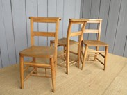 Antique Church Chairs from The Royal School In Bath