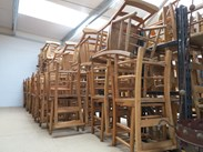 Showing all of the Royal School Church Chairs here at UKAA