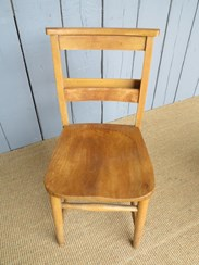 Reclaimed Antique Church Chairs