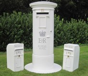 We also sell and rent out pillar boxes for wedding days