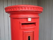 Image 1 - Original Cast Iron George Pillar Box