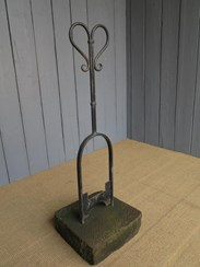 UKAA Buy and Sell Antique Wrought Iron Boot Scrapers