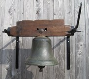 Wall Mounted Large Antique Bronze Calling Bell
