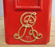 Edward VII insignia of the Original Pole Mounted Post Box