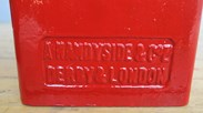 Original Pole Mounted Post Box made by A Handyside & Co