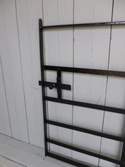 Image 1 - Antique Reclaimed Wrought Iron Estate Gate and hinges