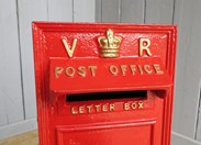 Very Rare VR Wall Mounted Post Box - arched back