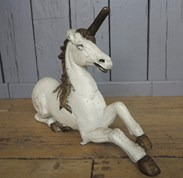 UKAA Buy and Sell Victorian Cast Iron Unicorn Doorstops