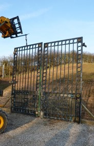 Image 9 - Large Pair of Antique Gates & Runners